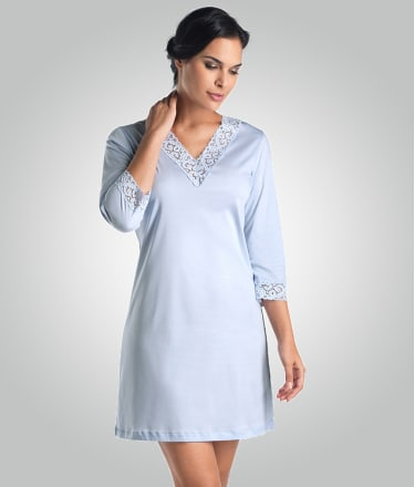 Hanro: Moments Knit Night Shirt