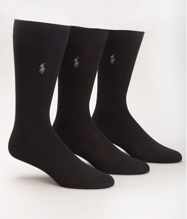 Polo Ralph Lauren: Super Soft Crew Dress Socks 3-Pack