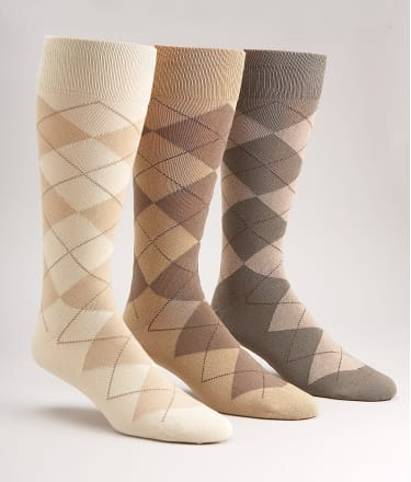 Polo Ralph Lauren: Argyle Cotton Crew Socks 3-Pack