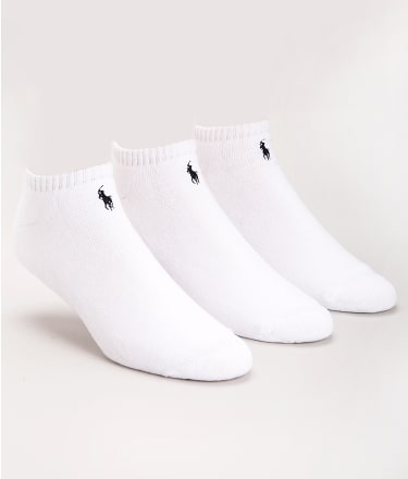Polo Ralph Lauren: Classic No Show Socks 3-Pack