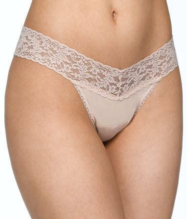 Hanky Panky: Organic Cotton Low Rise Thong