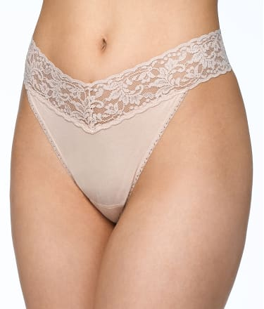 Hanky Panky: Cotton Organic Original Rise Thong 3-Pack