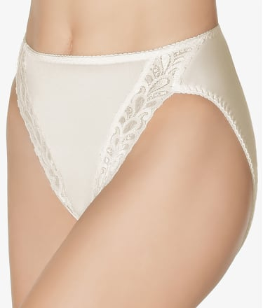 Wacoal: Bodysuede Lace Leg Hi-Cut Brief