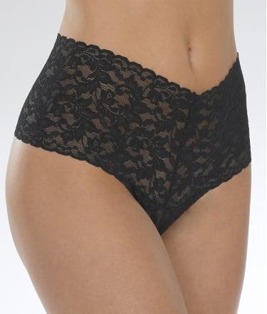 Hanky Panky: Signature Lace Retro Thong Plus Size