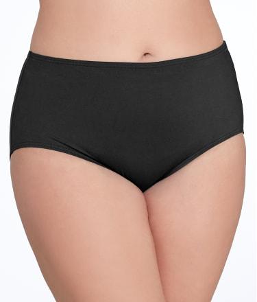 Plus Size Solid Control Bikini Bottom