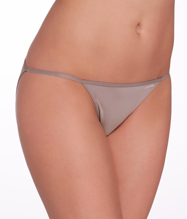 Calvin Klein: Microfiber String Bikini