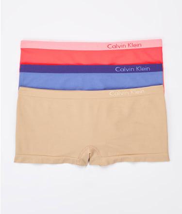 Calvin Klein: Pure Seamless Boyshort 3-Pack