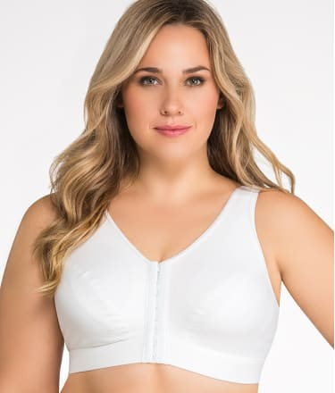 Enell: Full Figure Medium Control Wire-Free Sports Bra