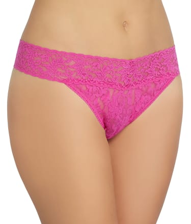 Hanky Panky: Signature Lace Original Rise Thong Plus Size