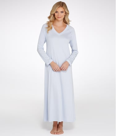Hanro: Pure Essence Knit Gown