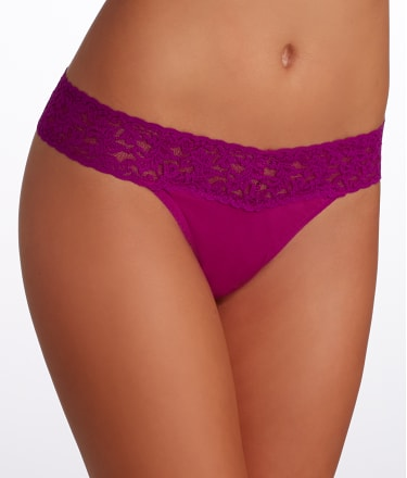 Hanky Panky: Organic Cotton Original Rise Thong