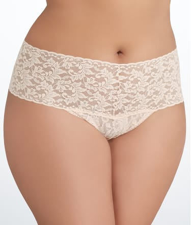 Hanky Panky: Signature Lace Retro Thong Plus Size