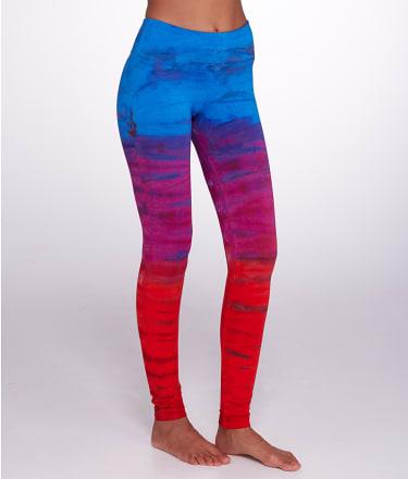 Hard Tail: Flat Waist Ankle Yoga Leggings