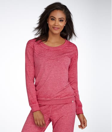 Honeydew Intimates: Burnout French Terry Knit Sweatshirt