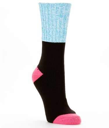 Hot Sox: Color Block Marled Boot Socks