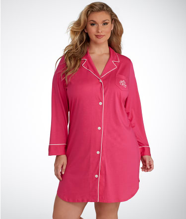 Lauren Ralph Lauren: Hammond Knits Sleep Shirt Plus Size
