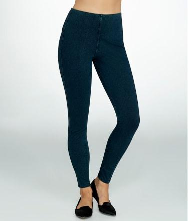 Lyssé: Medium Control Noho Denim Zip Leggings