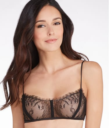 Maison close villa satine corset wire free bra 605842 at for Maison close