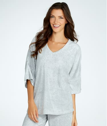 N Natori: Brushed Terry Lounge Top