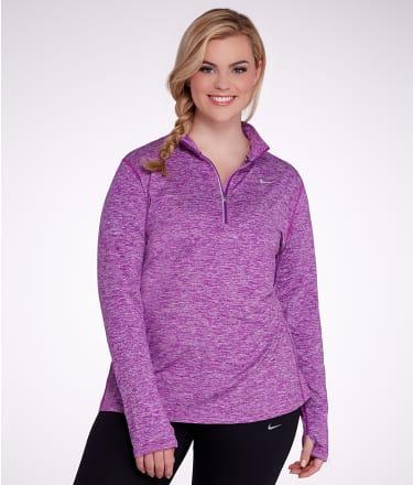 Nike: Element Dri-FIT Half-Zip Pullover Plus Size