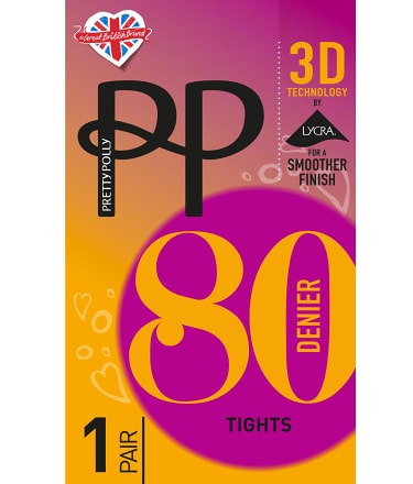 Pretty Polly: 3D Technology Opaque Tights