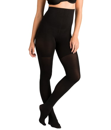 spanx tight end high waist opaque tights hosiery shapewear 167 at. Black Bedroom Furniture Sets. Home Design Ideas