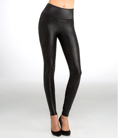 SPANX: Ready-to-Wow Faux Leather Shaping Leggings