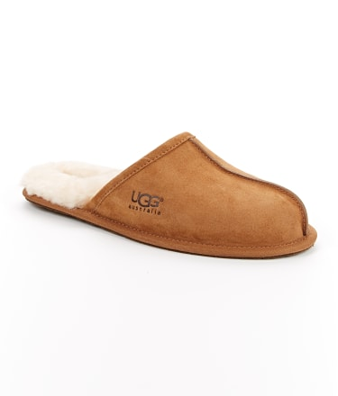 UGG: Men's Scuff Suede Slippers