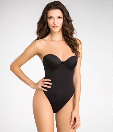 Va Bien: Strapless Low Back Slimming Bodysuit