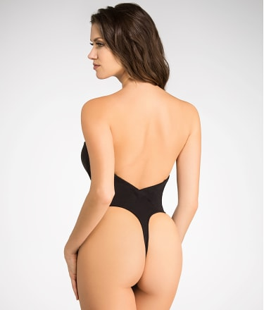 Va Bien: Strapless Low Back Slimming Bodysuit