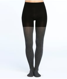 SPANX Cozy Cable Knit Shaping Tights