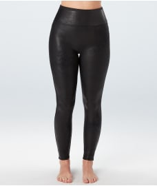 SPANX Plus Size Ready-to-Wow Faux Leather Leggings