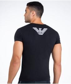 emporio armani eagle stretch cotton trunk underwear 111866 cc725 at. Black Bedroom Furniture Sets. Home Design Ideas