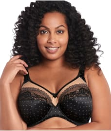 Goddess Bridget Lace Side Support Bra