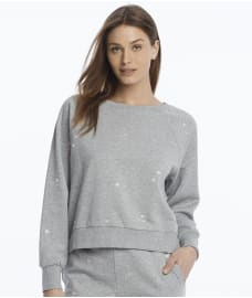 Bare Necessities Women's Honeydew Intimates Over the Moon Sweatshirt