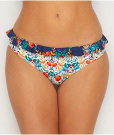 Lepel Paradise Longline Halterneck Bikini Top 1753610 Womens Swimwear Floral