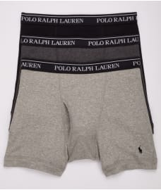 Polo Ralph Lauren Classic Cotton Boxer Brief 3-Pack