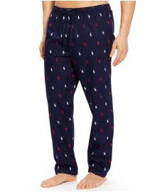 Polo Ralph Lauren Classic Pony Print Woven Pajama Pants