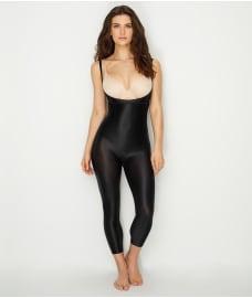 SPANX Suit Your Fancy Medium Control Open-Bust Catsuit