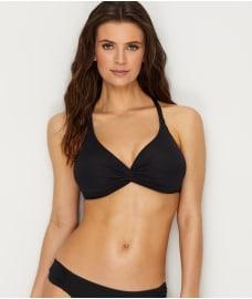 05360ca314061 Sunsets  Black Olivia Twist Bikini Top E-H Cups ...