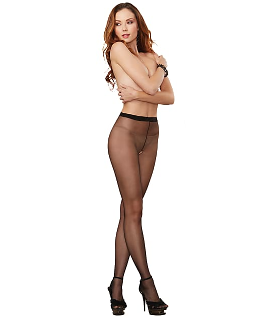 Dreamgirl: Crotchless Sheer Pantyhose