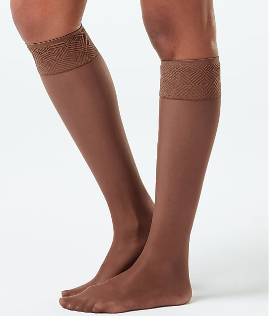 SPANX: Plus Size Sheer Hi-Knee Socks 2-Pack