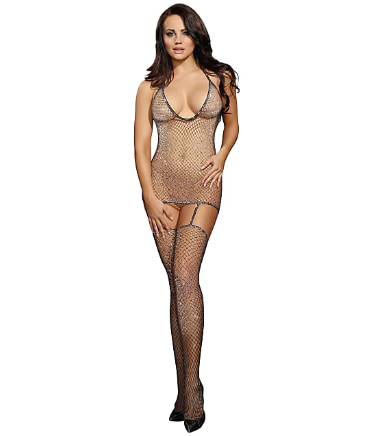 Dreamgirl: Metallic Bodystocking