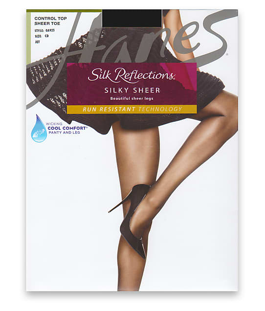 Hanes: Silk Reflections Control Top Pantyhose