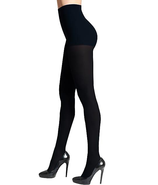 DKNY Super Opaque Control Top Tights in Black OB335