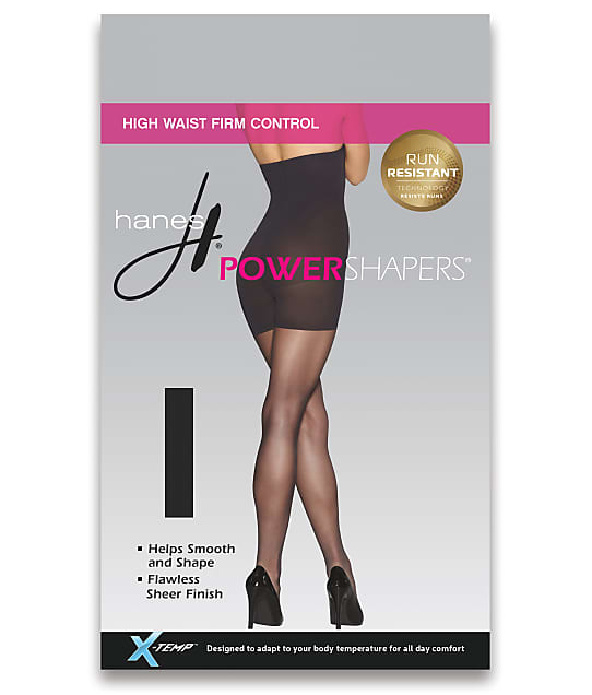 Hanes: Power Shapers Firm Control High-Waist Pantyhose