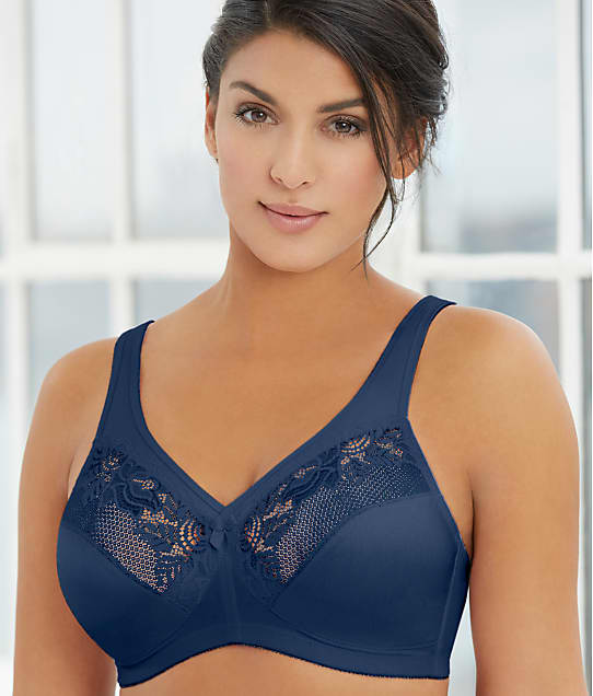 Glamorise: Magic Lift Wire-Free Minimizer Bra