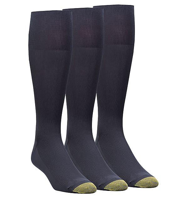 Gold Toe: Metropolitan Big & Tall Dress Socks 3-Pack