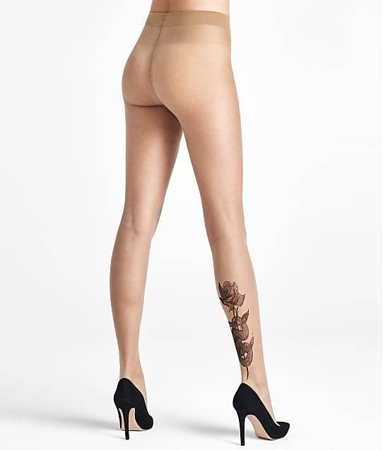 1ff0bfff19bed Wolford Galya Snake Tattoo Ink Pantyhose