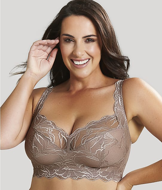 Sculptresse Embrace Wire-Free Bra in Fawn(Front Views) 10285